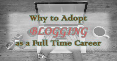 Blogging as a Full Time Career