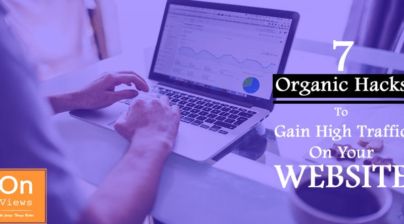7 Organic Hacks to Gain High Traffic on your Website